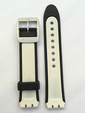 SWATCH CINTURINO ORIGINAL STRAP JAMSE BOND LIVE AND LET DIE YGS4012 17 MM SW120
