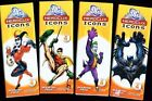 DC HEROCLIX ICONS BOOSTER PACK X4 FACTORY SEALED 4 FIGURES PER PACK