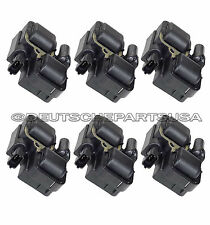 MERCEDES BENZ E320 ML320 CLK320 CLK430 C280 IGNITION COILS 6 x 000 158 78 03 SET