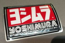 NEW GENUINE YOSHIMURA RS4 EXHAUST NAME PLATE