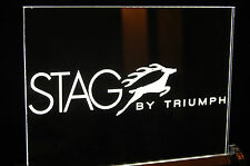 Neon Style Triumph Stag Sign, Unique, Ideal Christmas Gift