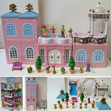Mini Polly Pocket Deluxe Mansion - Dream Builders 100% complete Stapelvilla Haus