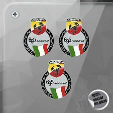 PEGATINA KIT ABARTH 695 RECORD FIAT VINYL STICKER DECAL ADESIVI