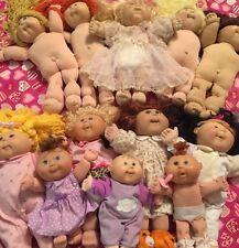 Lot Of 12 Brown Blonde Red Xavier Roberts Cabbage Patch Kids Doll 80's-'08