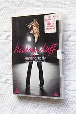 Hilary Duff: Learning to Fly (DVD+ Artwork), R-4, Like new, free post Aus-wide
