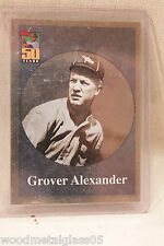 2001 (PHILLIES) Topps #BT9 Grover Alexander In Protective Sleeve