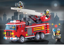 ENLIGHTEN 904  Fire series:Three fire engines  fire engine 364pcs  no box