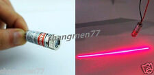 Industrial Class 650nm 5mW 5v Red Laser Line Cross Module Glass Lens Focusable