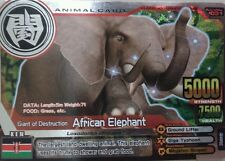 Animal Kaiser Evo 7 Silver Super Rare card - African Elephant (See Description)