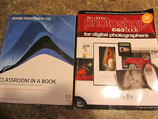The Adobe Photoshop CS3 Book for Digital Photographers Classroom lot of 2