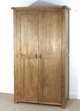 Rustic Reclaimed Oak 2 Door Wardrobe