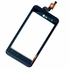 100% ORIGINALE LG P920 OPTIMUS front housing + DIGITIZER TOUCH SCREEN VETRO + Surround