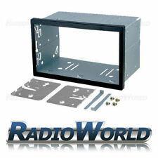 Universal Double Din Cage Fitting Kit Trim & keys 182 x 103mm Radio Headunit