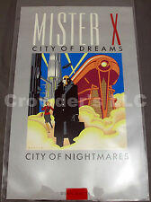 Mr Mister X - City of Dreams City of Nightmares - Signed Numbered Print 61/295