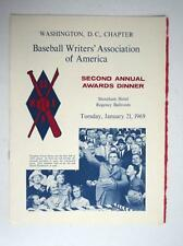 1969 BWAA Awards Program Washington DC Mantle Gibson McLain Rose Howard featured