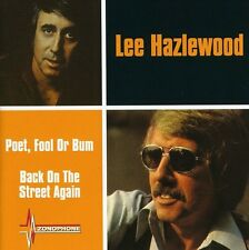 Poet Fool Or Bum/Back On The Street Again - Lee Hazlewood (2004, CD NIEUW)