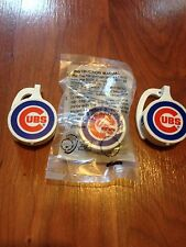 Lot of 3 Chicago Cubs WGN 720 Radio Earpiece Burger King Promo Vintage