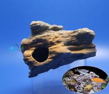 MF CICHLID STONE Ceramic Aquarium Rock Cave decor F923B  AK570
