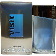 AZZARO VISIT by Loris Azzaro 3.4 oz 3.3 edt Cologne for Men NEW in BOX