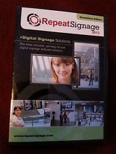 Repeat Signage 2013 digital signage software CD - Standalone edition