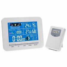 Wireless Color Display Weather Station In/Outdoor Thermo Sensor Humidity Adapter