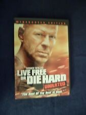 Live Free or Die Hard (DVD, 2007, Widescreen Version)