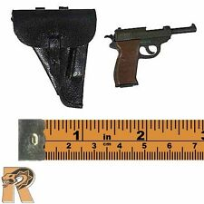 TCT62025B - Pistol (Walther) w/ Holster - 1/6 Scale - Toys City Action Figures