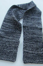 Paul Smith Womens Long Scarf CHUNKY KNIT 6ft /183cm with pockets for hands