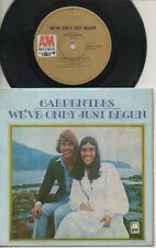 """THE CARPENTERS   Rare 1971 Aust Only 7"""" OOP Pop P/C EP """"We've Only Just Begun"""""""