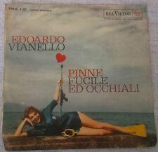 "Vinile 45 giri 7"" - EDOARDO VIANELLO - PINNE FUCILE ED OCCHIALI - PM45 3100"