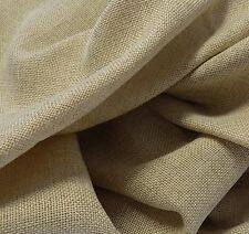 118 INCH ROUND EQUINOX FAUX BURLAP TABLECLOTH - WASHABLE POLYESTER TABLECLOTHS