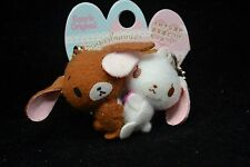 Sanrio Sugarbunnies Hugging 2 Mascot Plush Doll Best Friends Magnetic Key Chain