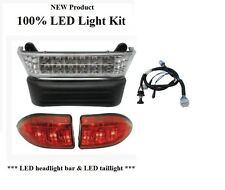 100% LED Club Car Precedent Light Kit with  2008+ tail light harness