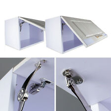 cabinet door lift up flap top support spring kitchen hinges stay sprung zinc kit