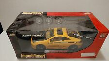 Toyota Celica Import Racer! Diecast Model Car - Jada - 1:18  - Yellow - Wheels