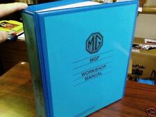 MGF (Factory) Workshop Manual TF 130 VVC 1.8