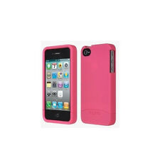 New Pink Incipio Apple iPhone 4 4S EDGE Hard Shell Slider Carrying Case Cover