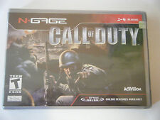 CALL OF DUTY - NTSC  FOR NOKIA N GAGE - *** BRAND NEW & FACTORY SEALED *** RARE
