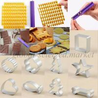 Alphabet Letters Numbers Symbols Cake Cookie/Biscuit Cutters Stamp Baking Tool