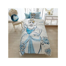 Cinderella Covering Bed Set 3pcs Pillow Case Disney Princess Kawaii Japan