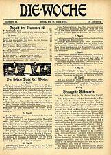 Benagelte Bildwerke (Kriegs-Wahrzeichen)Aufsatz von Prof.Cornelius Gurlitt 1916