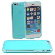 BLUE CASE FITS APPLE iPHONE 6 SOFT SILICONE GEL  :SLIM TPU COVER PROTECTION M39