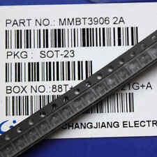 100PCS 40V 200mA MMBT3906 SOT-23 2N3906 SMD PNP Transistor