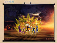 Dragon Ball Z Living Room Bedroom Mural Decor Wall Scroll Poster