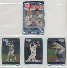 2012 BOWMAN BASEBALL CHROME PROSPECTS PICK-5 COMPLETE YOUR SET OR TEAM SET