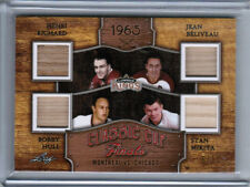 2016 LEAF LUMBER KINGS RICHARD BELIVEAU HULL MIKITA CUP FINALS QUAD STICK /12