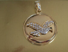 Gold Finish With Crystal Fashion  Pendant