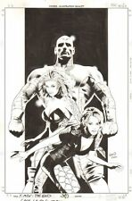 X-Men: The End - Heroes & Martyrs #3 Cover Colossus, Rogue & Kitty by Greg Land