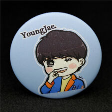Fashion KPOP GOT7 YoungJae Q edition style Badge Brooch Chest Pin Souvenir Gift