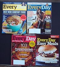 Every Day with Rachael Ray Magazine Lot o 3 2013 Cooking Halloween Thanksgiving